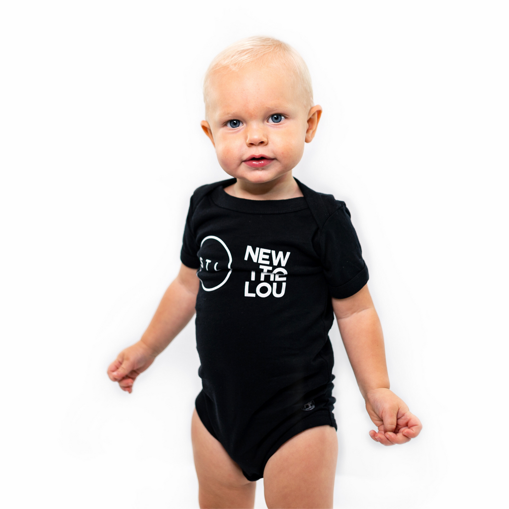New To The Lou City Circle Onesie