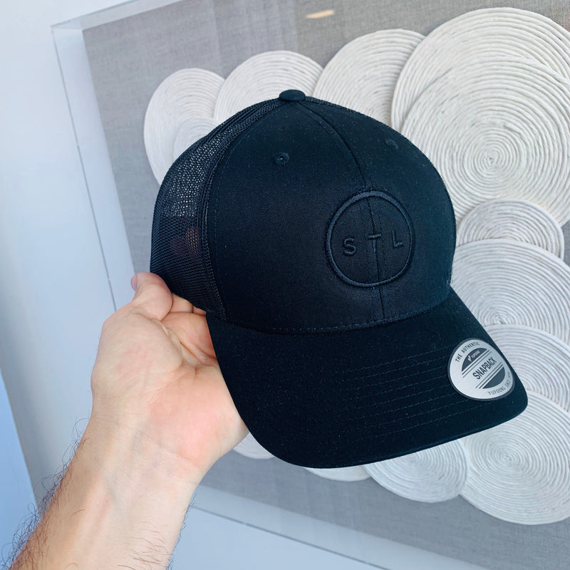 Blackout City Circle Baseball Trucker