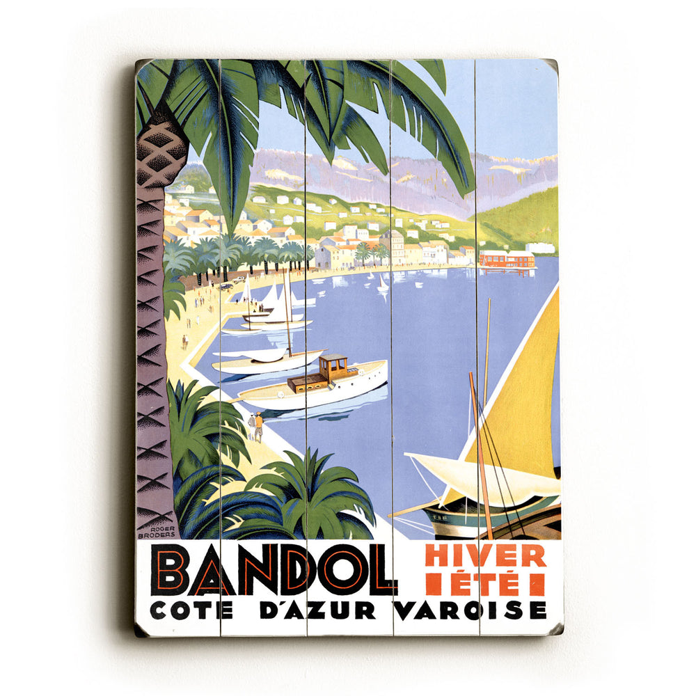 Bandol Wood Wall Decor by Posters Please