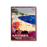 Antibes Wood Wall Decor by Posters Please
