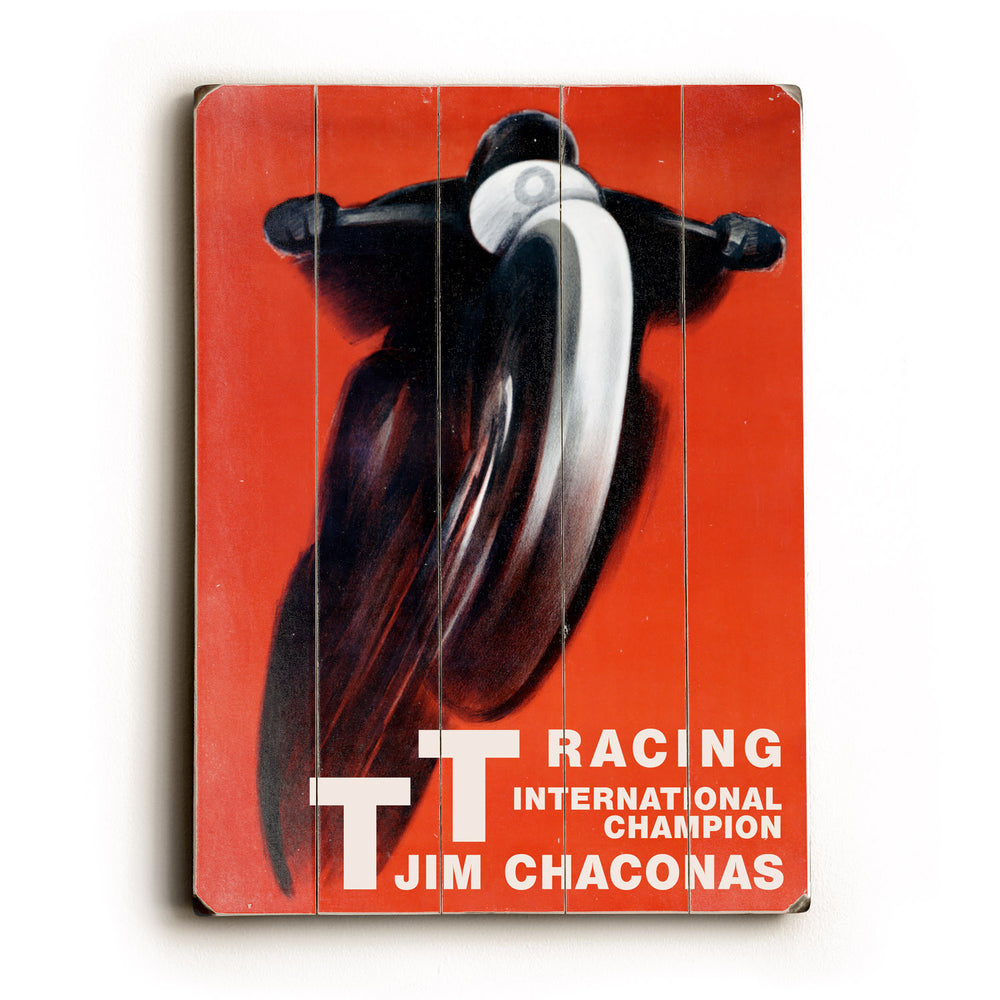 Racing Wood Wall Decor by Posters Please