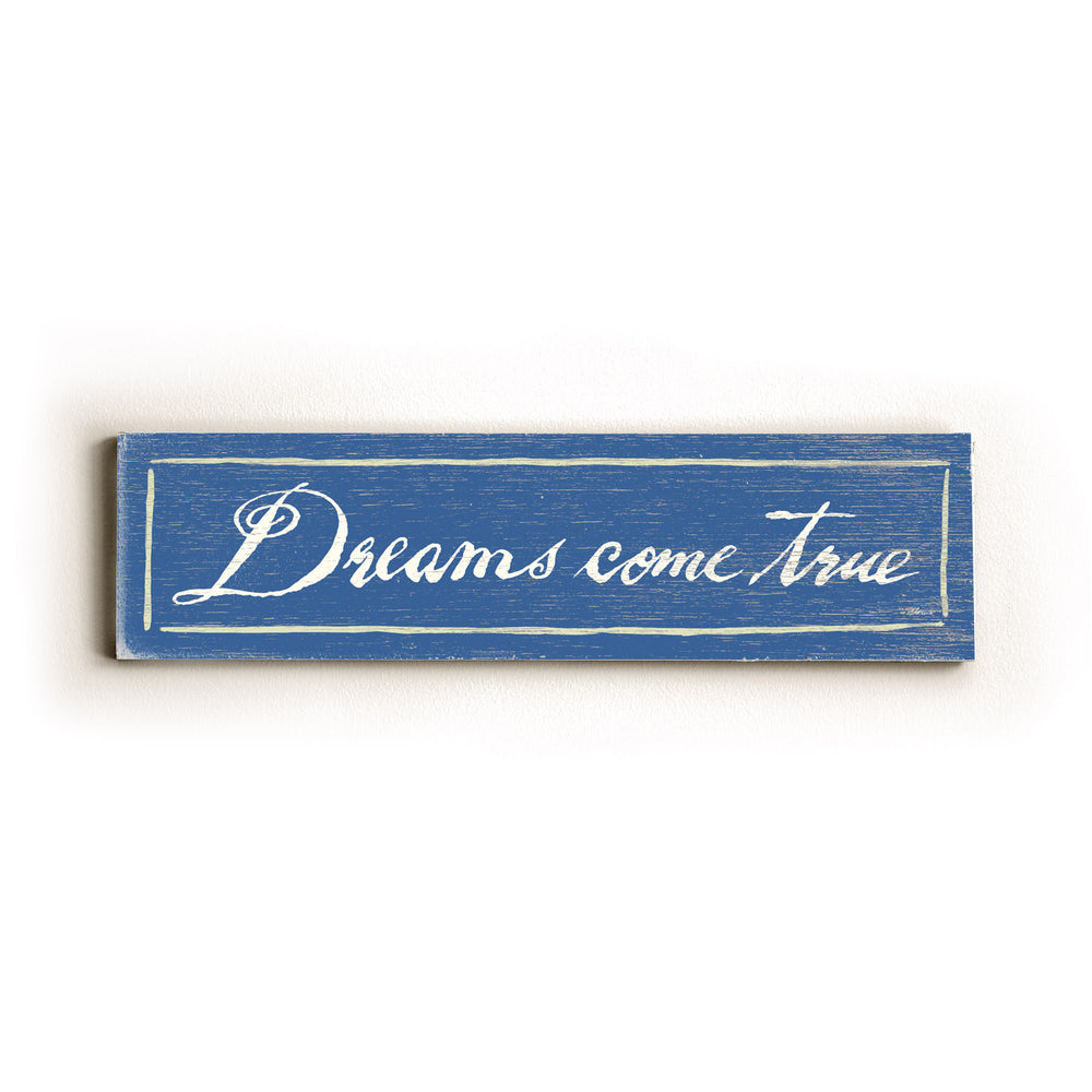Dreams come True Wood Wall Decor by FLAVIA