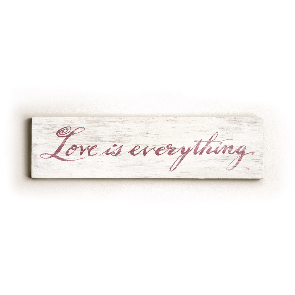Love is Everything Wood Wall Decor by FLAVIA