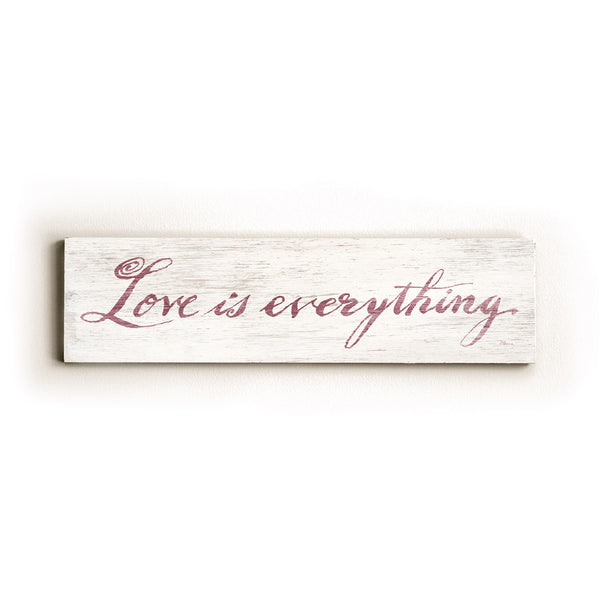 0002-8212-Love is Everything Wood Wall Decor by FLAVIA