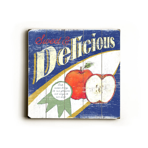 0002-8215-Delicious Apples Wood Wall Decor by FLAVIA
