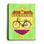 Bicycles Wood Wall Decor by FLAVIA