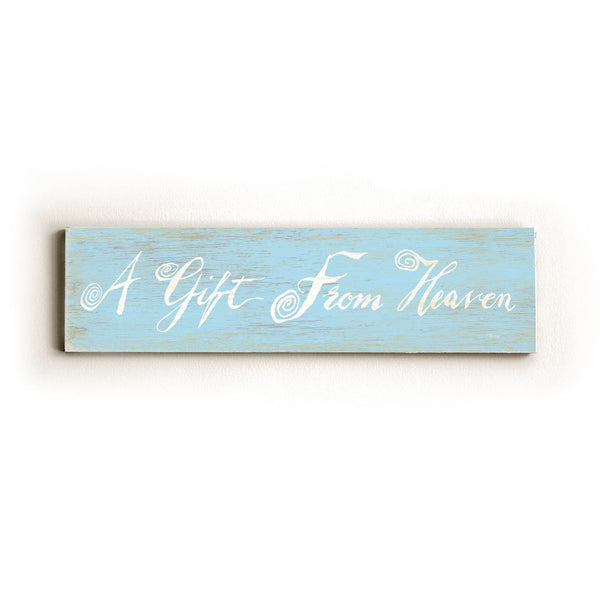 0002-9025-A gift from Heaven Wood Wall Decor by FLAVIA