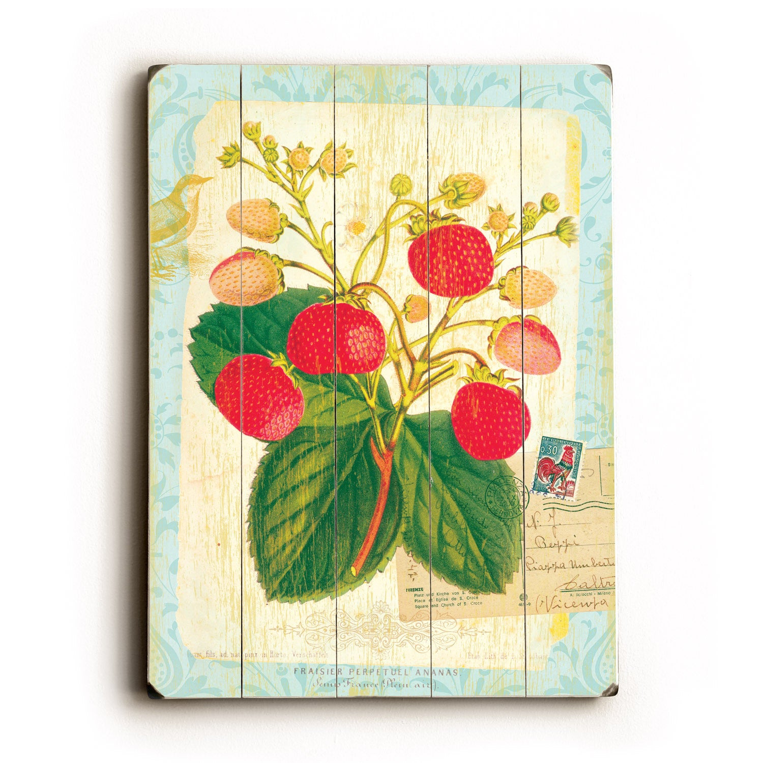 Old Fashioned Strawberry Wall Decor Collection - Art & Wall Decor ...
