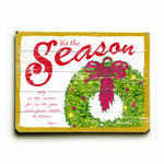 Tis the Season Wood Wall Decor by FLAVIA