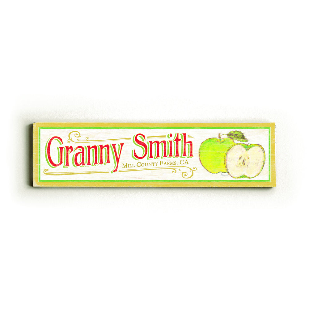 Granny Smith Wood Wall Decor by FLAVIA