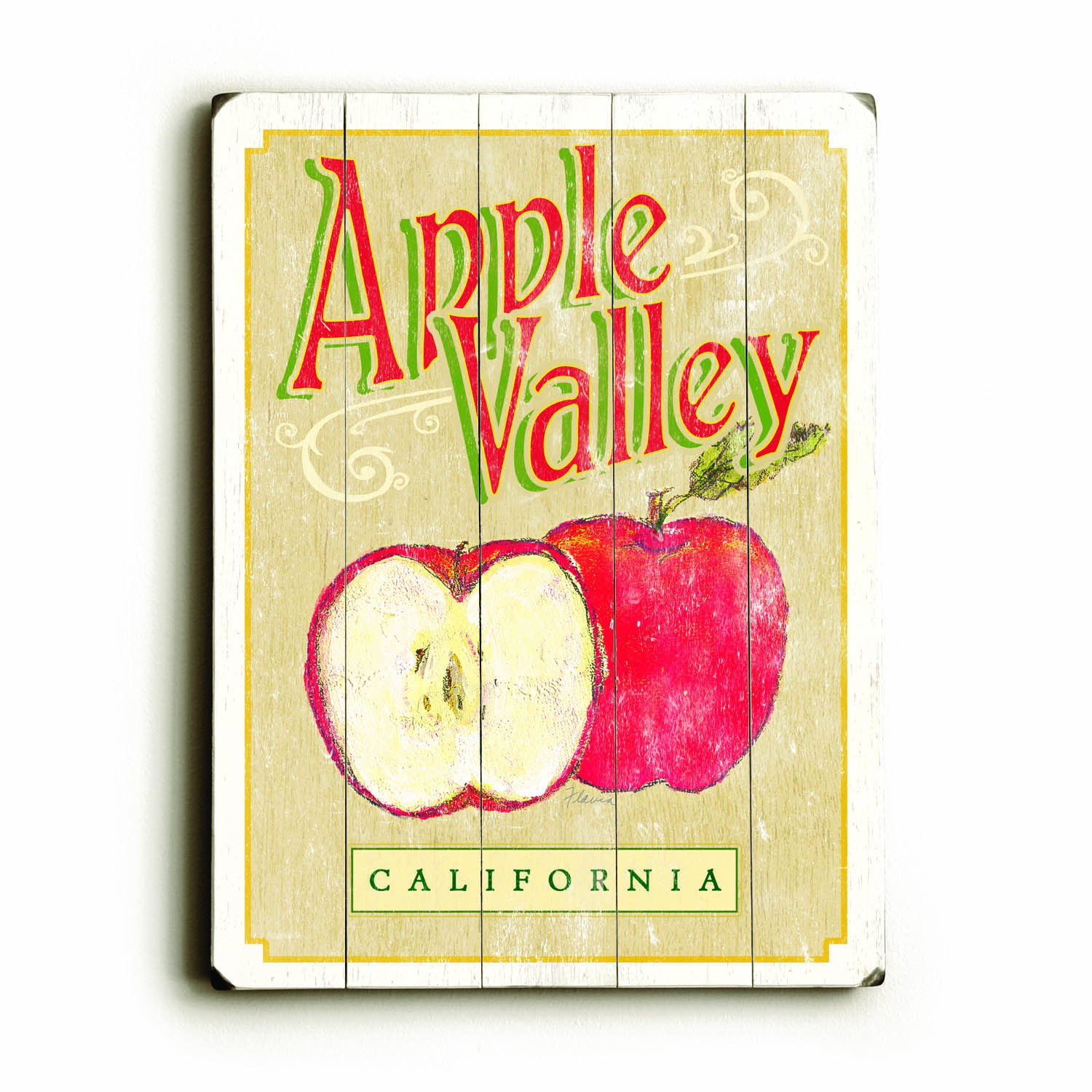 Nice Apple Wall Art Crest - All About Wallart - adelgazare.info