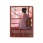 Madame Butterfly Wood Wall Decor by Posters Please