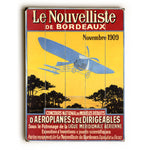 Le Nouvelliste Wood Wall Decor by Posters Please