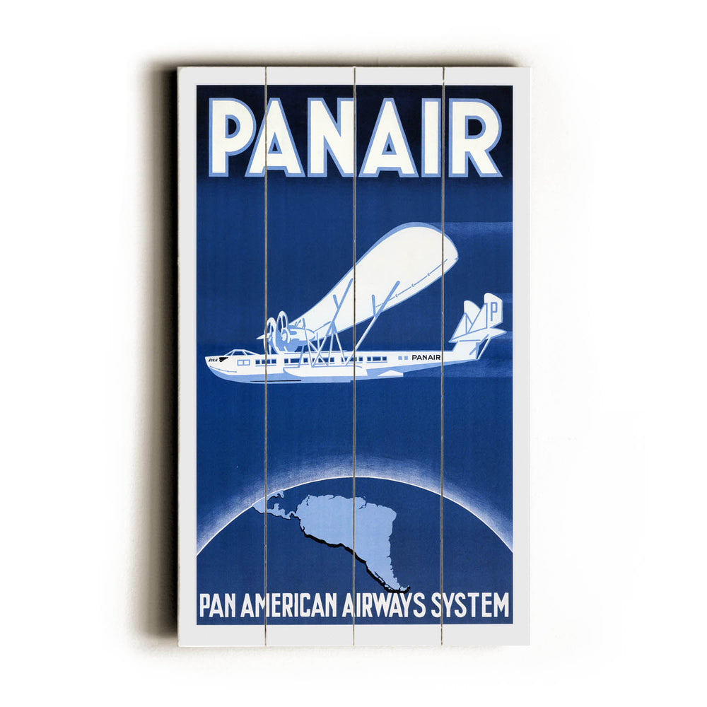 Panair Wood Wall Decor by Posters Please