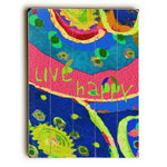 Live Happy Wood Wall Decor by Lisa Weedn