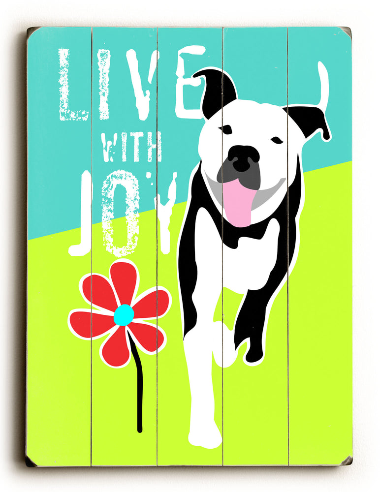 Going Places 2 Live with Joy Wood Wall Decor
