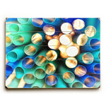 Abstract Sun light Wood Wall Decor by Lisa Argyropoulos