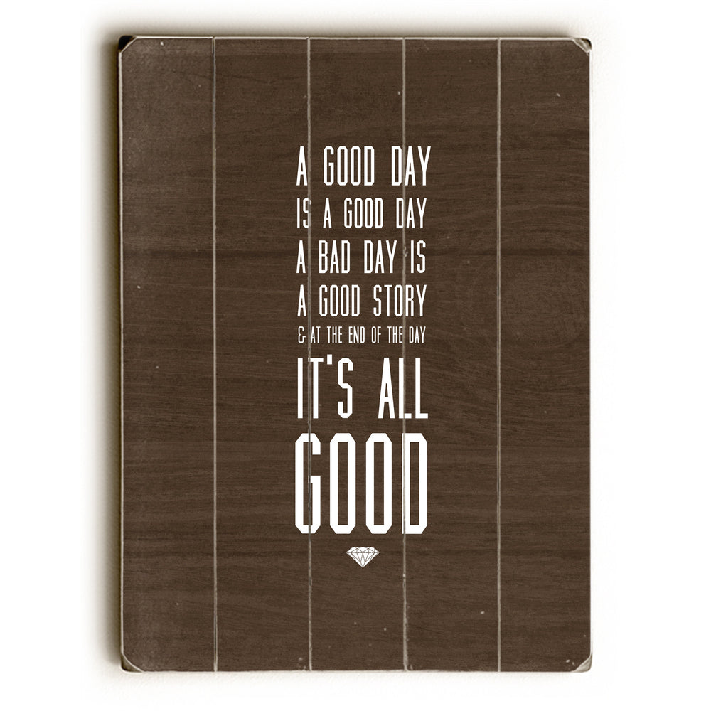 All Good Wood Wall Decor by Cheryl Overton