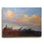 Autumn Skies Wood Wall Decor by Carol Schiff