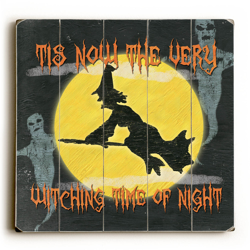 Witching Time of Night Wood Wall Decor by Debbie DeWitt