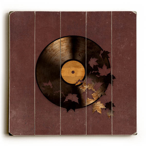 Autumn Song Wood Wall Decor by Terry Fan