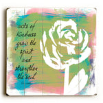 Acts of Kindness Wood Wall Decor by Lisa Weedn
