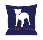 Bull Dog Drool is Cool by OneBellaCasa Affordable Home D_cor