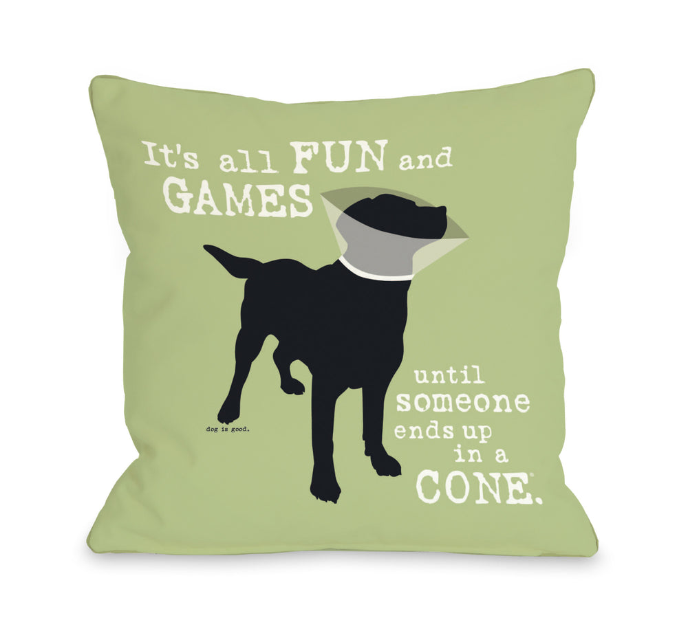 It's All Fun and Games - Greenby OneBellaCasa Affordable Home D_cor