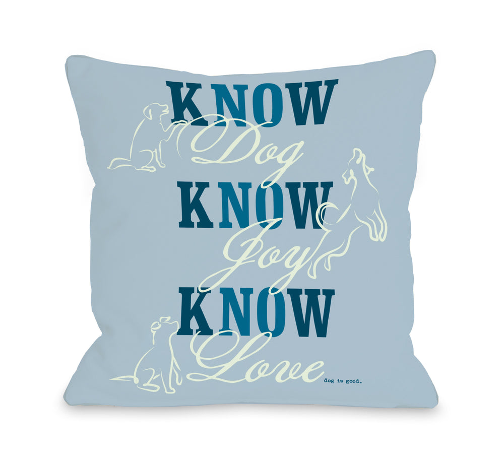 Know Dog - Blue by OneBellaCasa Affordable Home D_cor