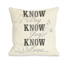 Know Dog - Cream by OneBellaCasa Affordable Home D_cor