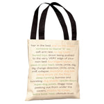Never Sleep Alone Tote Bag by Dog is Good