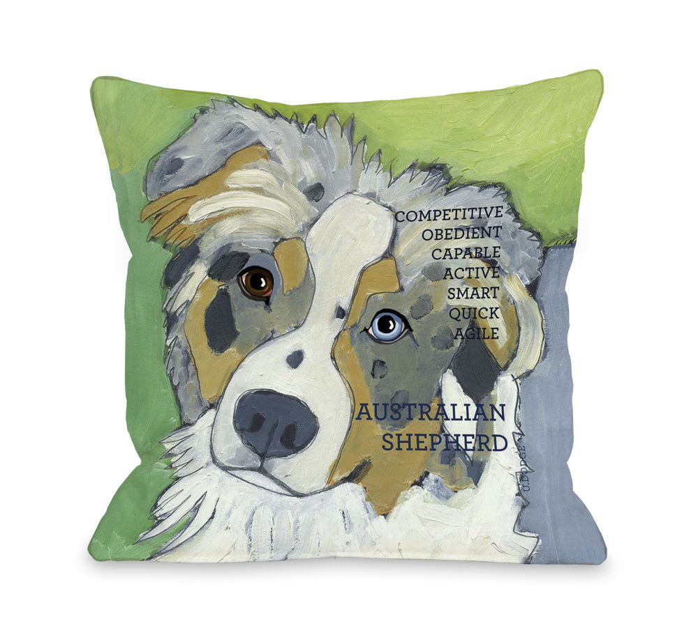 Australian Sheep Dog 1 by OneBellaCasa Affordable Home D_cor