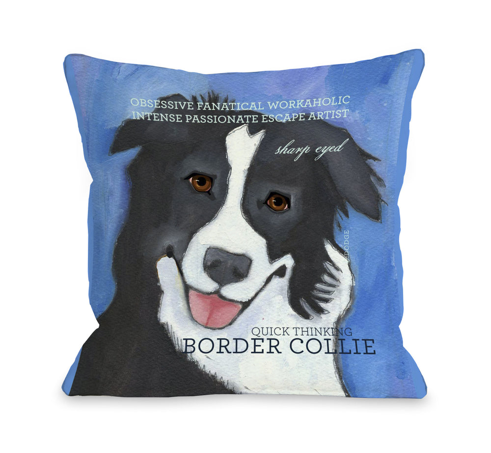 Border Collie 2 by OneBellaCasa Affordable Home D_cor