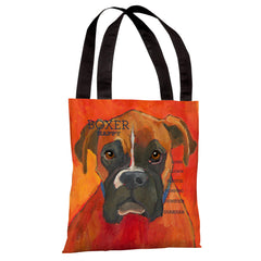 Boxer 2  Tote Bag by Ursula Dodge