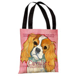 Cavalier 1  Tote Bag by Ursula Dodge