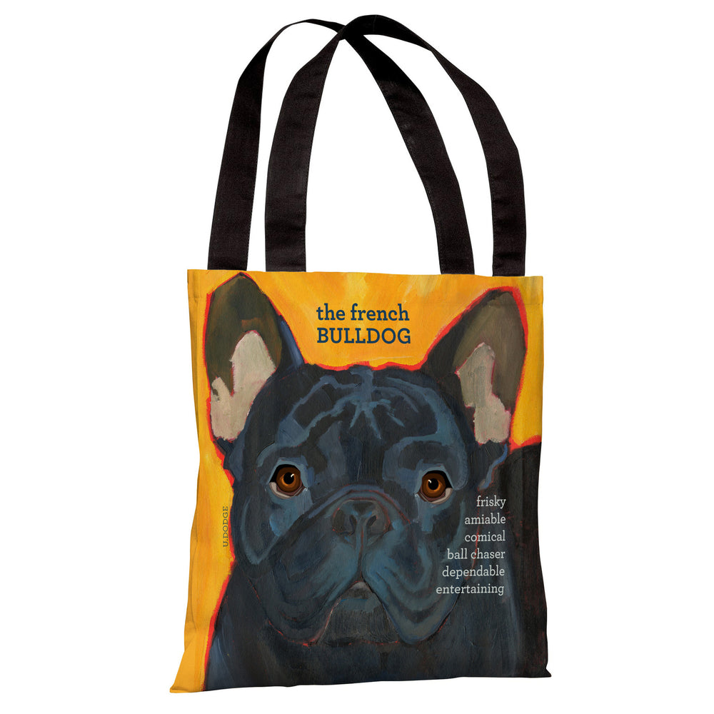 French Bulldog 3  Tote Bag by Ursula Dodge
