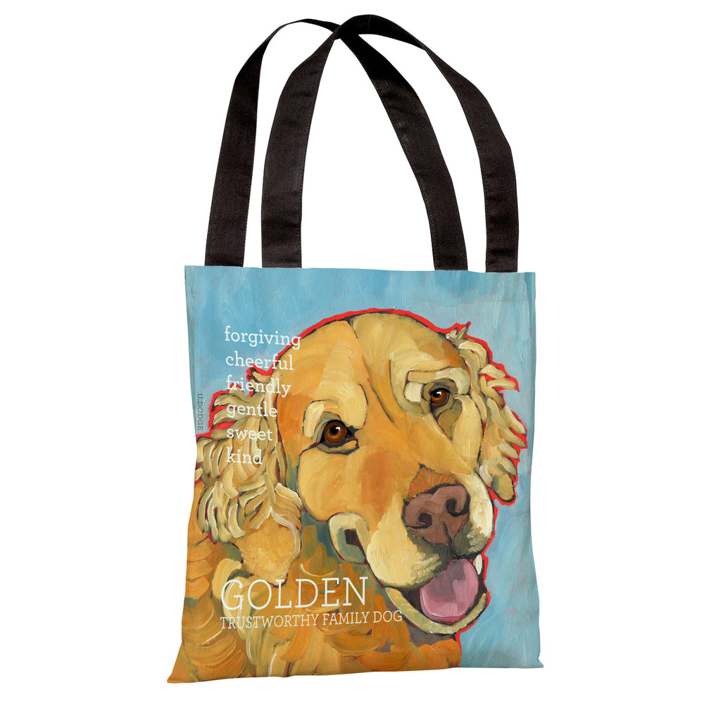 Golden Retriever 1  Tote Bag by Ursula Dodge