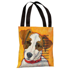 Jack Russell 2  Tote Bag by Ursula Dodge
