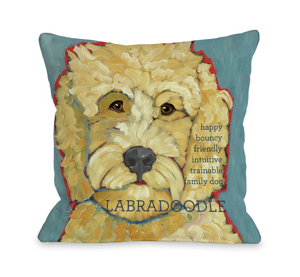 Labradoodle 1 by OneBellaCasa Affordable Home D_cor
