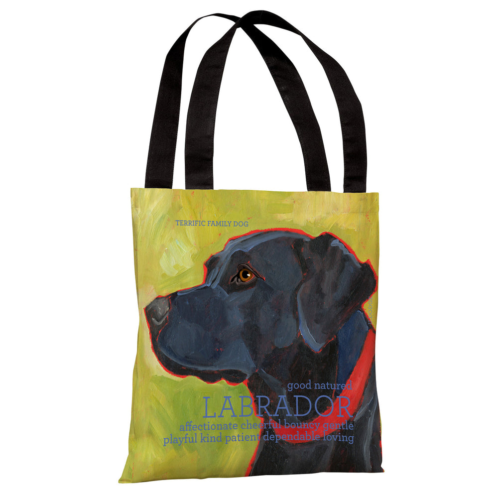 Labrador 1  Tote Bag by Ursula Dodge