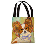 Papillion 1  Tote Bag by Ursula Dodge