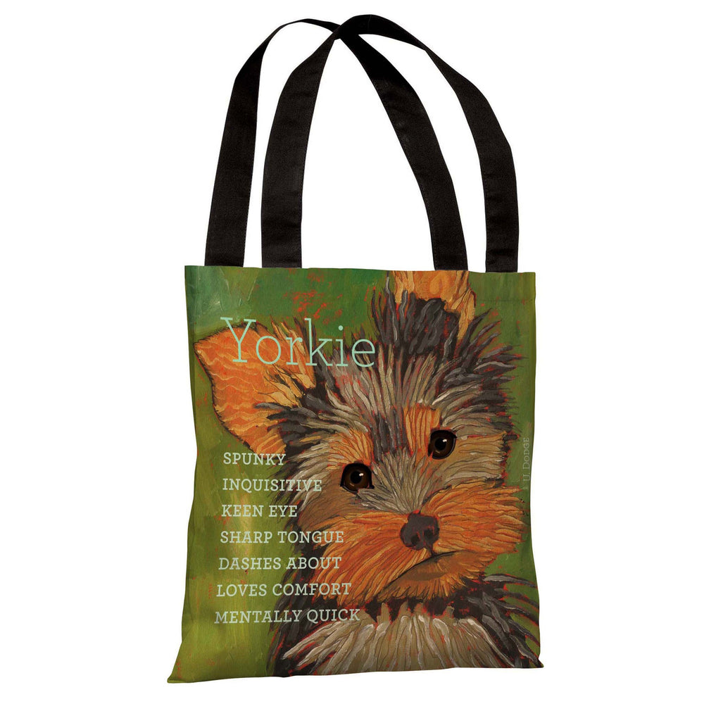 Yorkshire Terrier 1  Tote Bag by Ursula Dodge