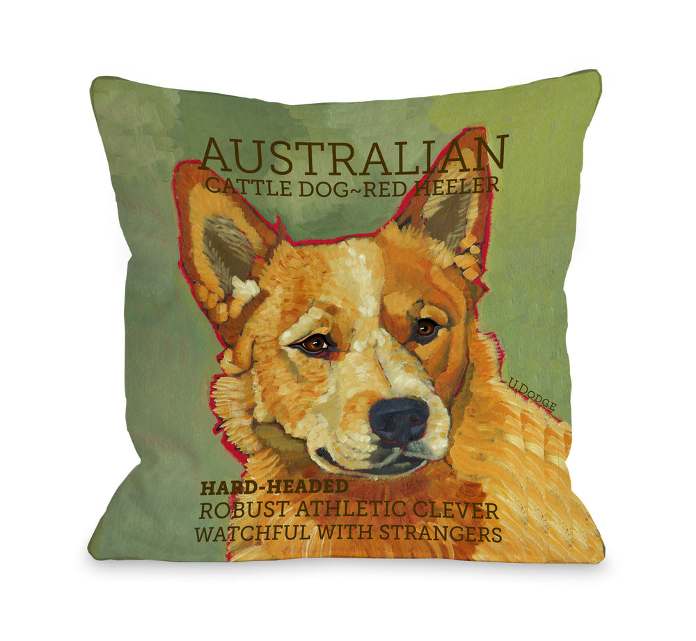 Australian Cattle Dog 2by OneBellaCasa Affordable Home D_cor