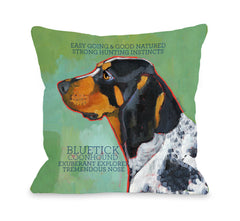 Bluetick Coonhound 2by OneBellaCasa Affordable Home D_cor