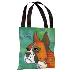 Boxer 1 Tote Bag by Ursula Dodge