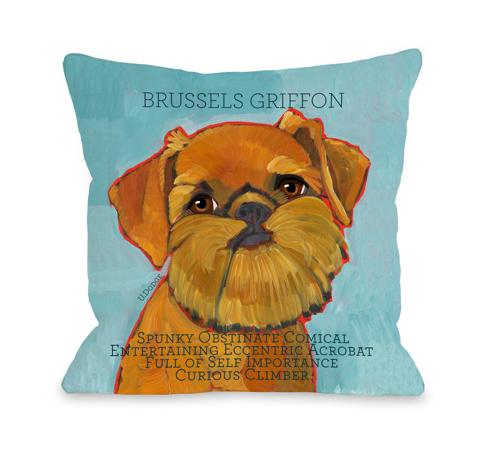Brussels Griffon1by OneBellaCasa Affordable Home D_cor