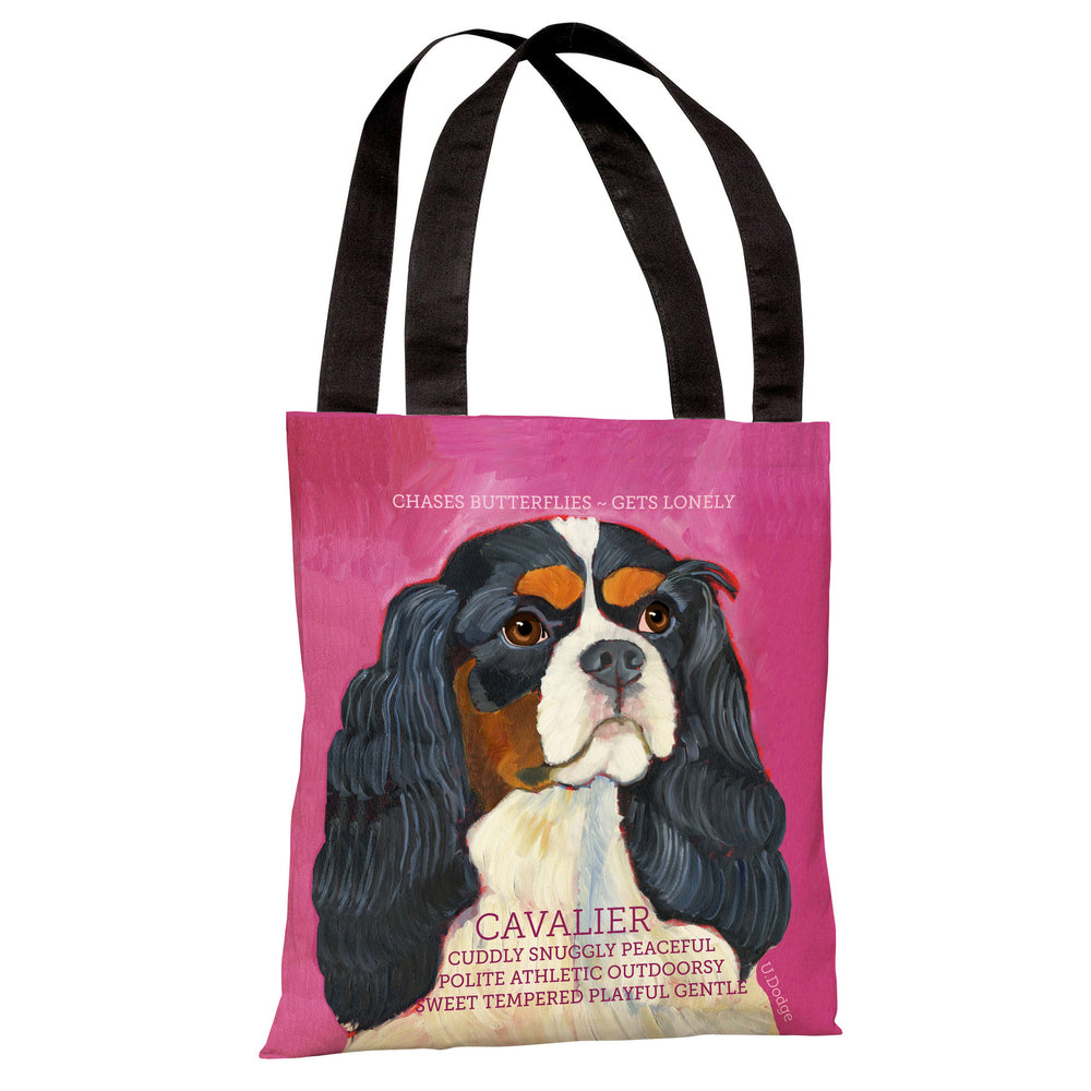 Cavalier 2 Tote Bag by Ursula Dodge