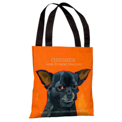 Chihuahua 3 Tote Bag by Ursula Dodge