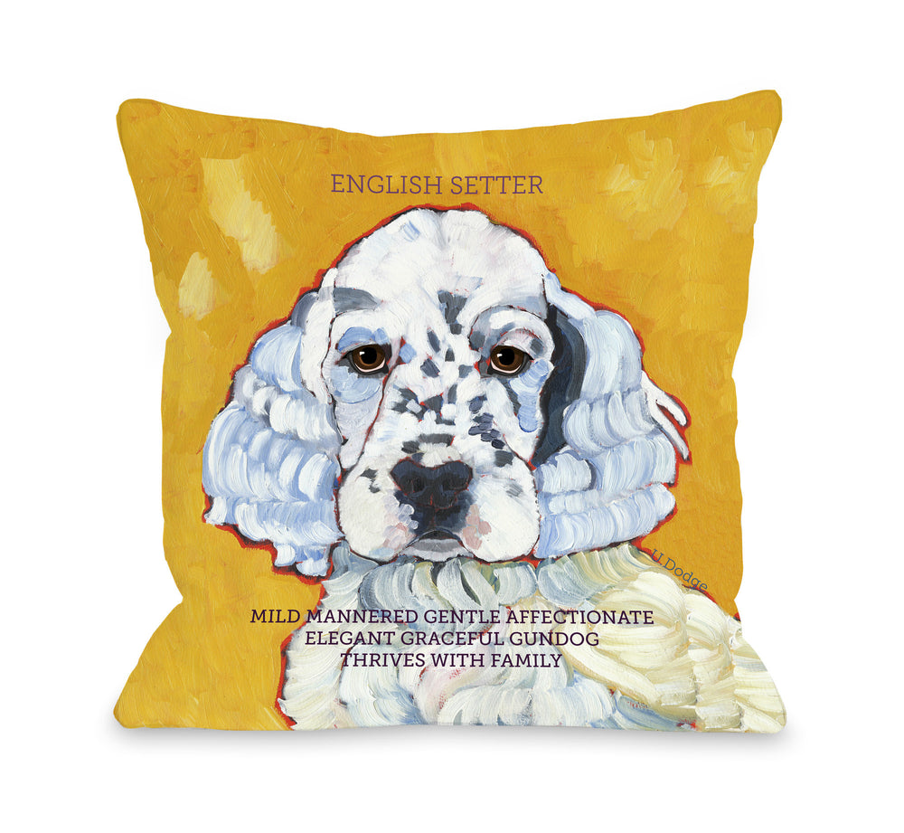 English Setter 4by OneBellaCasa Affordable Home D_cor