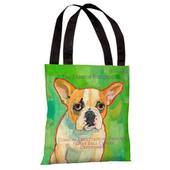 French Bulldog 1 Tote Bag by Ursula Dodge